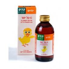 Витамин С с экстрактом шиповника сироп для детей, Hadas Vitamin C Syrop for children 240 ml