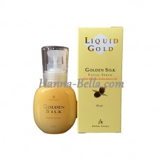 Сыворотка для лица Золотой шелк, Liquid Gold Golden Silk Facial Serum, Anna Lotan