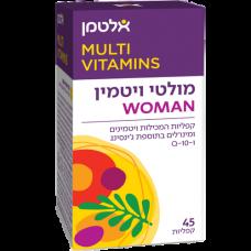 Мультивитамины для женщин, Multi Vit For Woman Altman 45 tablets