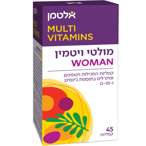 Multi Vit For Woman Altman 45 tablets