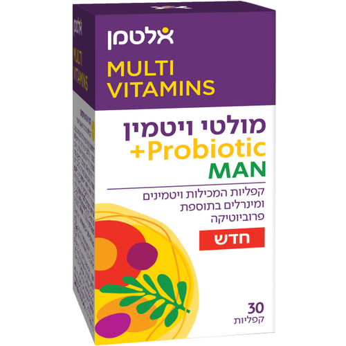 Multi Vitamin Probiotic For Men Altman 30 tablets