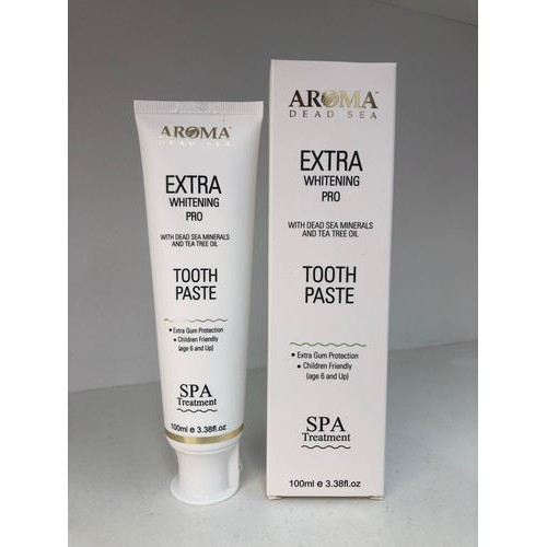 Зубная паста с минералами Aroma Dead Sea Tooth Paste 100ml