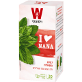 Black tea with mint and spices Wissotzky 20 bags