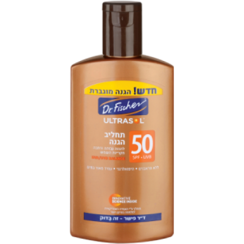 Солнцезащитный лосьон, Dr. Fischer Ultrasol Protection Lotion SPF 50 250 ml