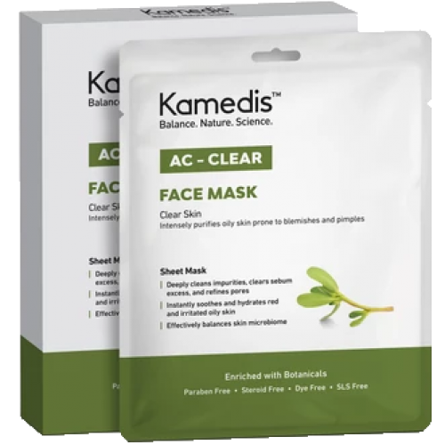 Kamedis Ac Clear Face Mask 5 units