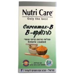 Nutri Care Curcumax-B Turmeric With Piperine 60 Tabs