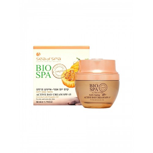 Bio Spa ACTIVE DAY CREAM , ANTI AGING 45+ 50 ml