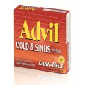 "Advil Ibuprofen For Adults ""Cold&Sinus"" 16 gel capsules"