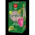 Зеленый чай черешня с порошком матча Wissotsky 25 пак*1.5 гр