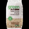 """Органическая овсянка мелкого помола Грин, Organic Oatmeal fine """"Green"""" 500 gr"""