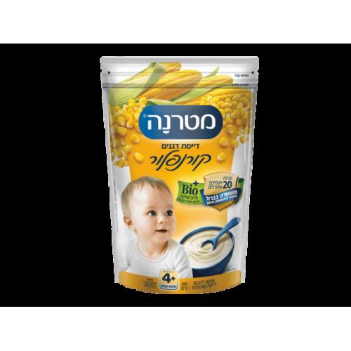 Безмолочная Каша Матерна кукурузная, Materna Corn flour Porridge 6+ months 200 gr
