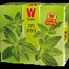 Мятный чай Wissotzky 50 пакетиков
